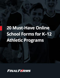 20 Must-Have Online School Forms for K-12 Athletic Programs